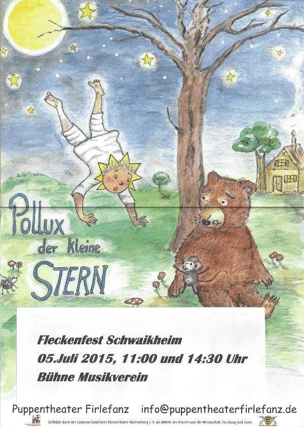 Puppentheater Firlefanz - Pollux der kleine Stern